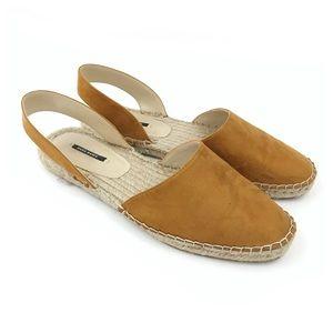<Zara> Espadrilles Flats Sandals Slip On Shoes